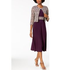 jessica howard a-line dress and lace jacket