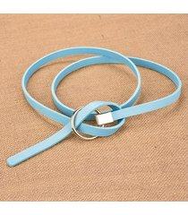 cinturón para mujer/estilo accesorio/ sra. cinturón-gris