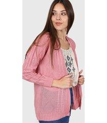 saco rosa moni tricot trensas