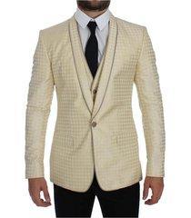 polka dot silk 2 piece blazer