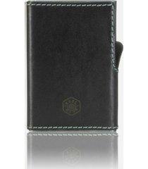 jekyll & hide texas card-slide wallet - black 4308tebl