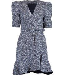 evelyn floral crepe dress