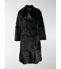 tom ford panelled double-breasted coat