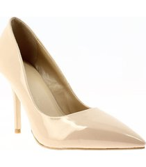 zapatos de tacón beige via spring via spring - beige