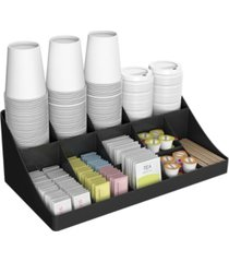 mind reader 11 compartment coffee condiment organizer