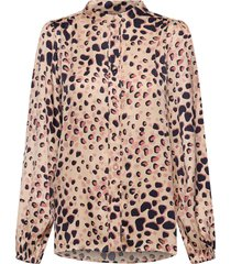 amur shirt blouse lange mouwen multi/patroon second female