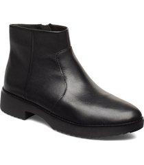 maria ankle boots shoes boots ankle boots ankle boot - flat svart fitflop