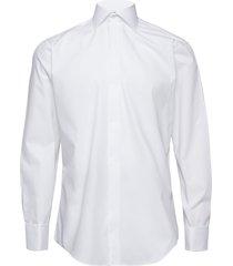 poplin | tuxedo - regular fit skjorta business vit seven seas copenhagen