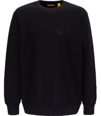 moncler genius sweatshirt with swarovski logo by 1952