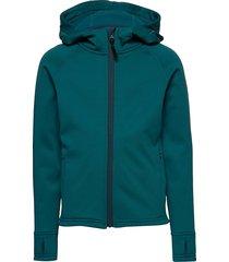 panda primaloft® hoodie outerwear fleece outerwear fleece jackets groen isbjörn of sweden