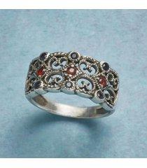 sundance catalog women's baroque lace ring 10