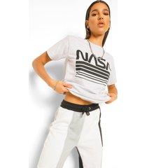 nasa license t-shirt, grey marl