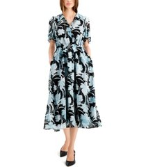 alfani flutter sleeve dress, created for macy's