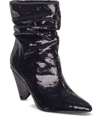 akittan/shootie shoes boots ankle boots ankle boots with heel svart guess