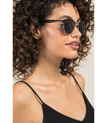 clean slate club master sunglasses - black
