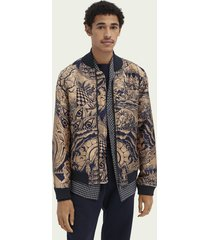 scotch & soda jacquard bomberjack