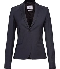 jackie cool wool jacket blazer kavaj blå filippa k