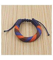 men's wristband bracelet, 'krobo unity' (ghana)
