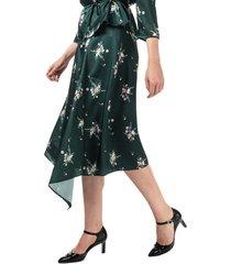 womens anabell asymmetric midi skirt