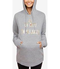 motherhood maternity graphic hoodie