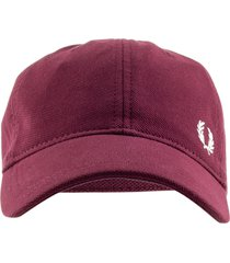fred perry classic embroidered cap