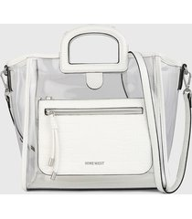 bolso blanco nine west