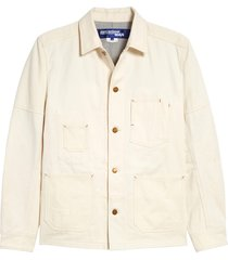 men's junya watanabe cotton canvas & twill jacket