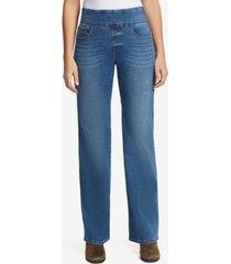 bandolino women's theadora pull on wide leg jeans