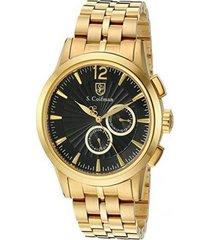 reloj dorado s.coifman