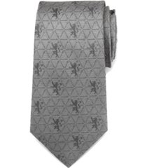 game of thrones lannister geometric sword men's tie