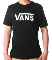 t-shirt korte mouw vans ap m flying vs tee vn0001o8blk