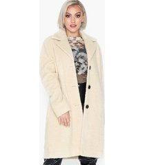 selected femme slfnanna teddy coat b faux fur