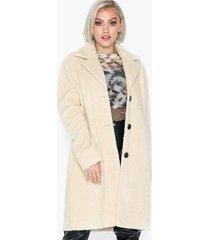 selected femme slfnanna teddy coat b faux fur
