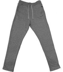pantalón gris aloud recto rustico