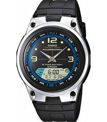 reloj aw-82-1a casio negro