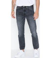 levis 501 slim taper just grey jeans grey black