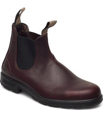 bl anniversary boot shoes chelsea boots röd blundst