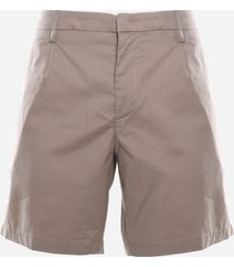 dondup shorts made of cotton blend