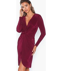 nly eve twisted pleated dress skater dresses