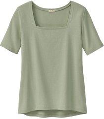 carré-shirt van bio-katoen, riet 38