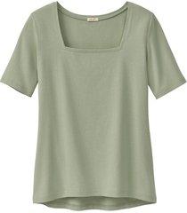 carré-shirt van bio-katoen, riet 40