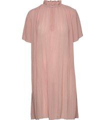 lady ss dress 6621 korte jurk roze samsøe samsøe