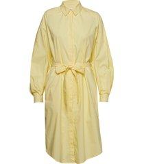 agata jurk knielengte geel rodebjer