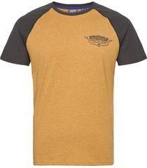speedway raglan tee t-shirts short-sleeved gul superdry