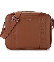pu textured satchel