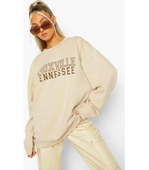 tall knoxville sweater, sand