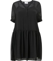 klänning slfabi 2/4 short dress m curve