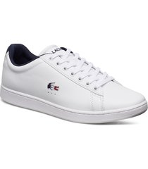 carnaby evo tri1 sma låga sneakers vit lacoste shoes