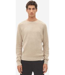 nowadays multi structure sweater brown rice nos022