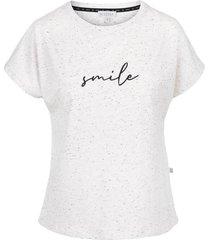 tof t-shirt smile gebroken wit